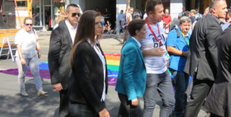 Same-sex partner of Serbian Prime Minister Ana Brnabic gives birth