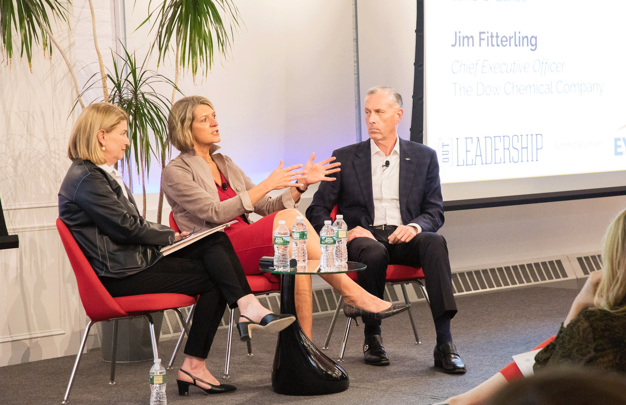 In New York, 2 of the 4 openly LGBT+ CEOs of Fortune 500 companies reflect on the importance of visibility