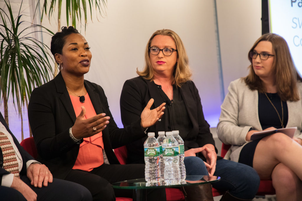 In New York, non-profit and business leaders discuss the importance of transgender inclusion and protections