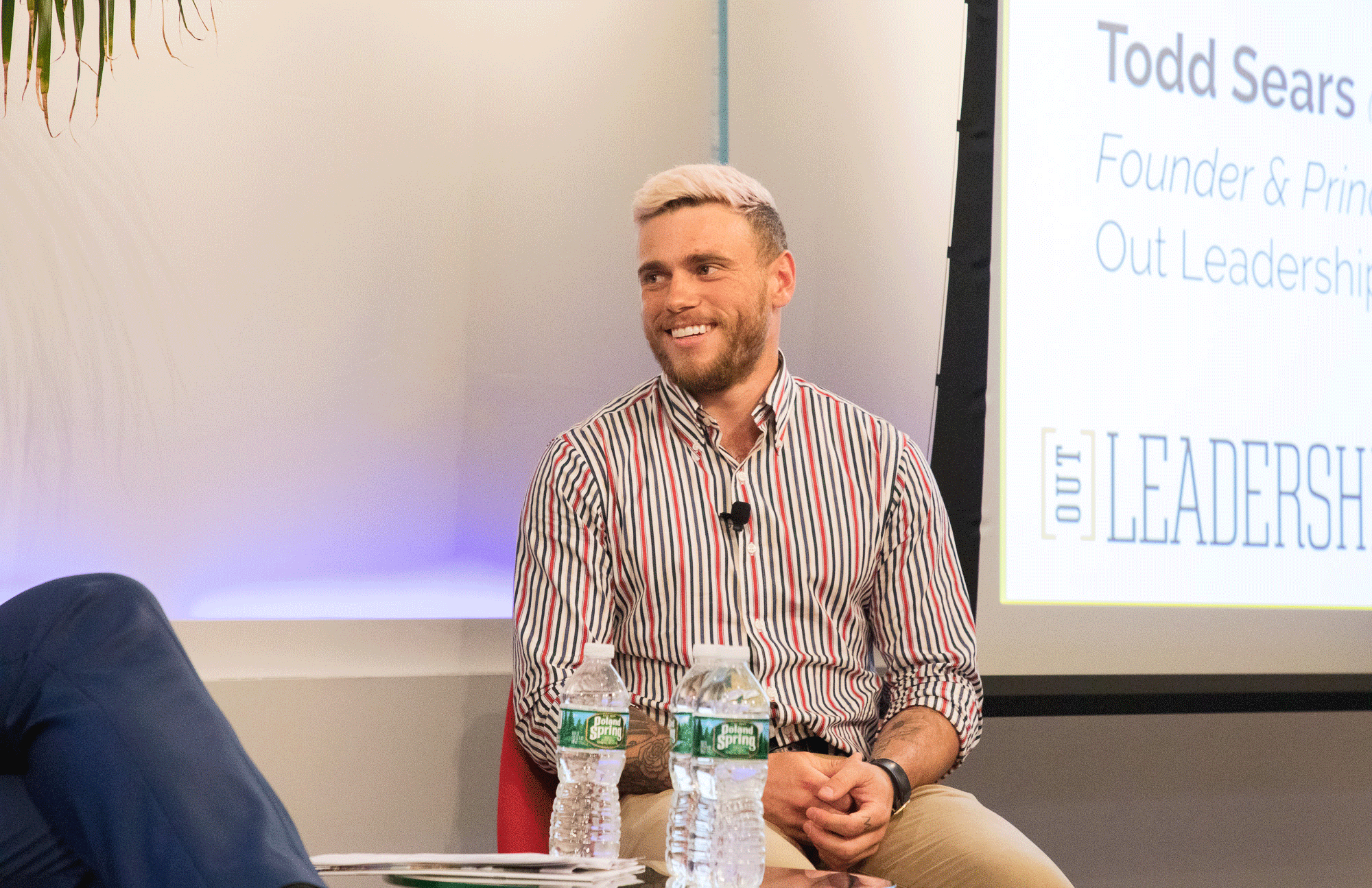 LGBT+ Olympic Medalist Gus Kenworthy and Todd Sears on the power of authenticity