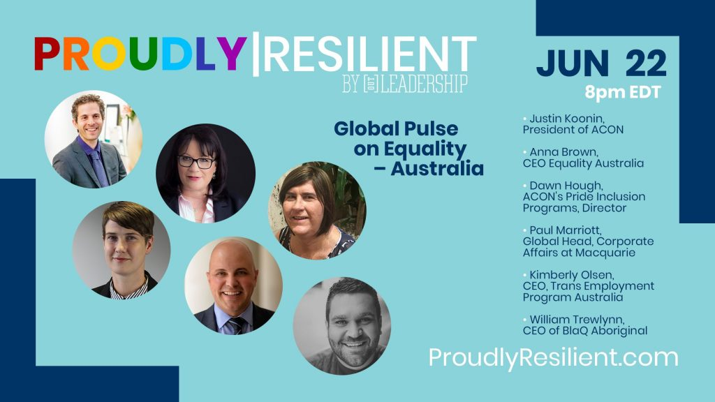 Global Pulse on Equality - Australia