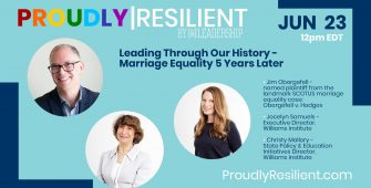 Leading Through Our History – Ep. 4 – 5 Years of Marriage Equality
