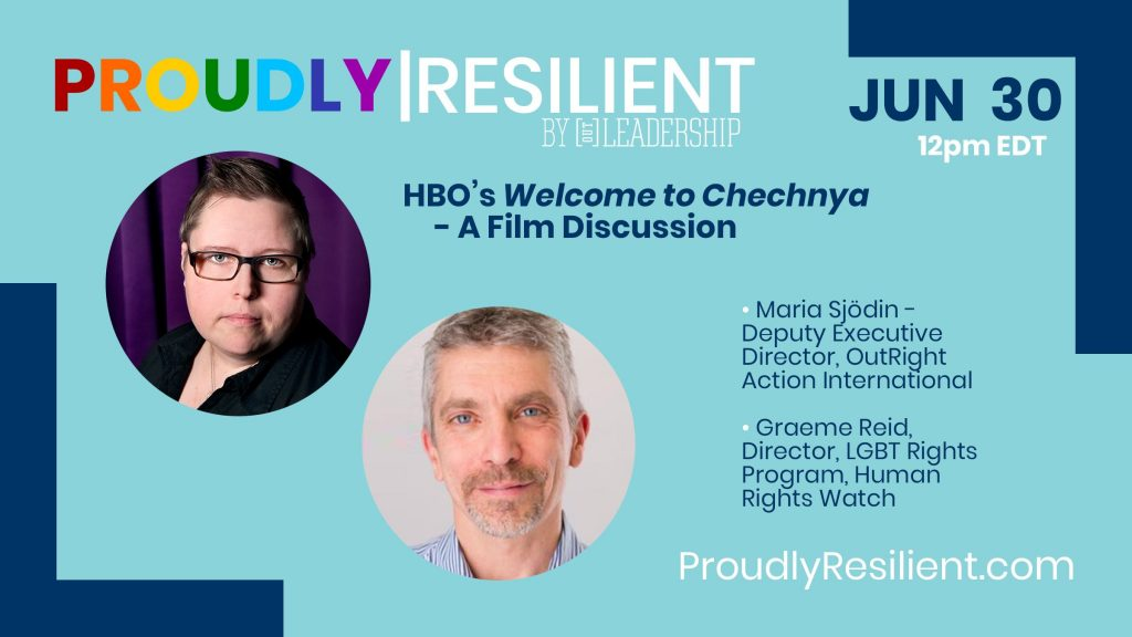 A Discussion about Welcome to Chechnya