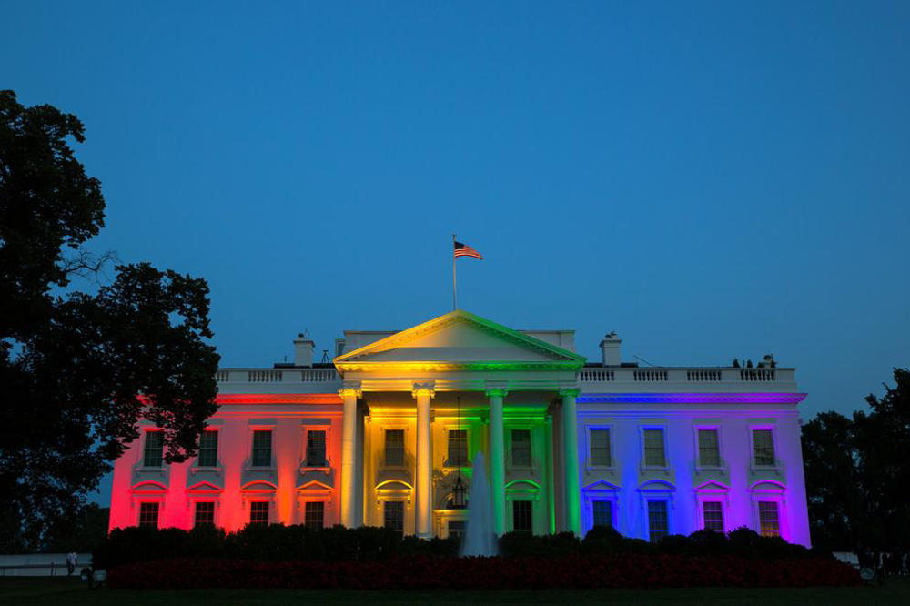 Celebration of LGBTQ+ equality at US Presidential inauguration