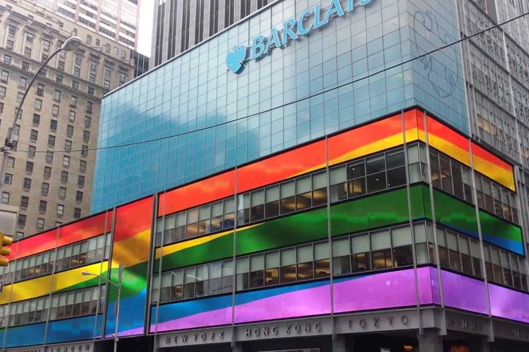 LGBT+ and ally executives speak at the fifth annual OutNEXT Global Summit, hosted by Barclays