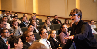 Spiire's Talonya Geary presents at OutNEXT 2018 Global Summit