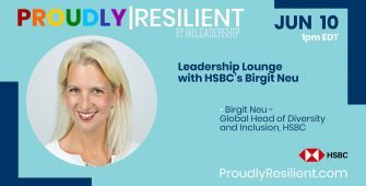 Leadership Lounge with HSBC's Birgit Neu