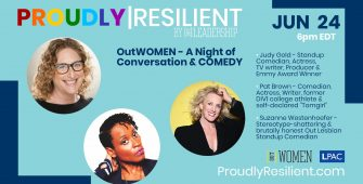 OutWOMEN – A Night of Conversation & COMEDY