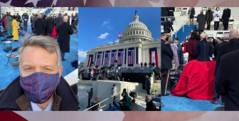 Reactions from attending the historic Biden-Harris Inauguration