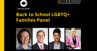Back to School for LGBTQ+ Families
